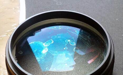 Lens watermark