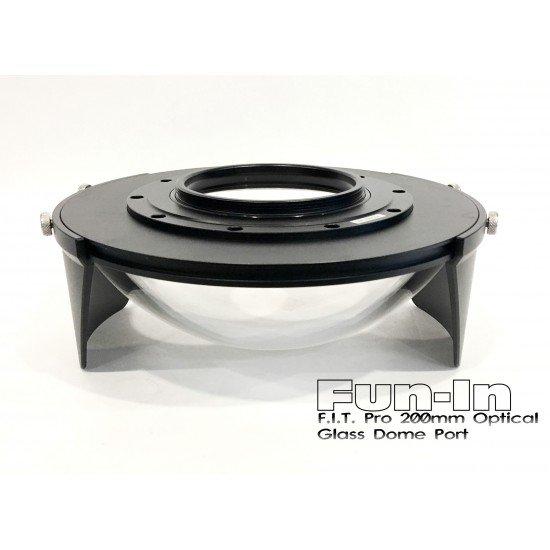 F.I.T. 200mm Optical Glass Dome Port for Nauticam/Sea&Sea/Subal DSLR Housing