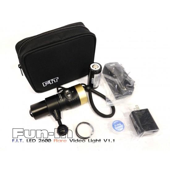 F.I.T. LED 2600 Flare Video Light V1.1