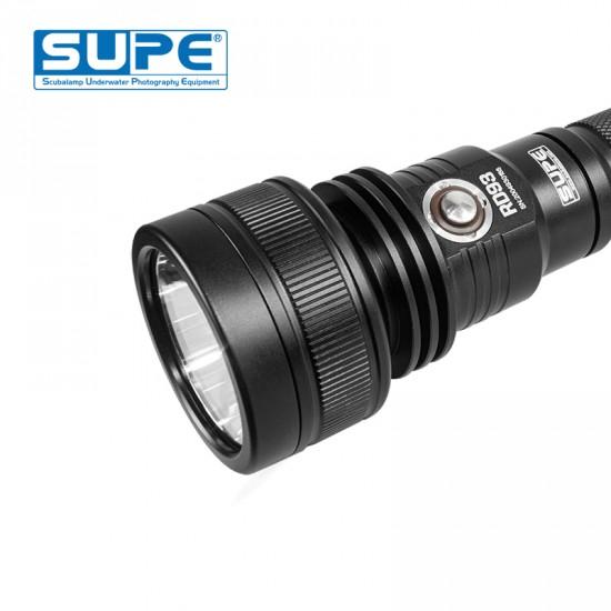 Scubalamp RD93 Diving Light (3000 lumens, Burning time 210mins)