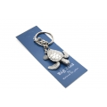 Big Blue Key Chain - Sea Turtle