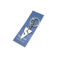 Big Blue Key Chain - Cave Diver Line Arrow