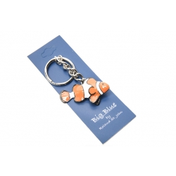 Big Blue Key Chain - Clown Fish