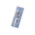Big Blue Key Chain - Seahorse