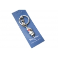 Big Blue Key Chain - Moray Eel with Scuba Tank