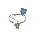 Big Blue Pendant - Antique Brass Sea Turtle