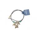 Big Blue Pendant - Antique Brass Ocean Traveler Contemporary Sea Turtle