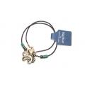Big Blue Pendant - Antique Brass Leggs contemporary Octopus