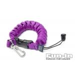 Cetacea Coil Lanyard (Purple)