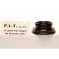 F.I.T. Viewfinder Mounting Ring for INON 45° Viewfinder and Nauticam DSLR housing