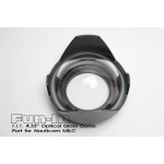 F.I.T. 4.33'' Optical Glass Dome Port for Nauticam M43 MILC Housing
