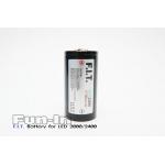 F.I.T. 32650  5800mAh Battery for Pro Series LED 2600/2500/2400/1200 Video Light