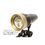 F.I.T. LED 2600 Flare Video Light V1.1 (2018 ver. Gold Color)