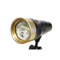 F.I.T. LED 2600 Flare Video Light V1.1 (2018 ver. Gold Color, Buy now get an additional battery for free)