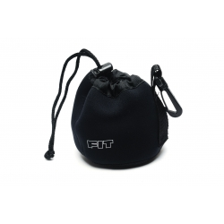 F.I.T. Neoprene Carry Pouch for wide angle lens (with hook)