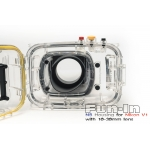 NB Housing for Nikon V1 with 10mm/10-30mm Lens