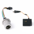 Nauticam M14 Nikonos 5-pin Bulkhead with Universal Hotshoe Connection