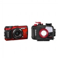 Olympus Tough TG-5 Camera and PT-058 Housing Suite