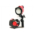 Olympus PT-059 Housing for TG-6 and INON D-200 Strobe Suite