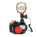 Olympus TG-5 Housing (PT-058) with INON S-2000 Suite