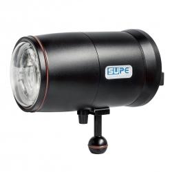 Scubalamp D-Max Strobe (Black, Circular flash tube, GN32, 250W)