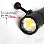 Scubalamp V6K pro Video Light (12,000 lumens)