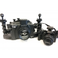 Used Aquatica E-M1 Housing, Camera and Accessories