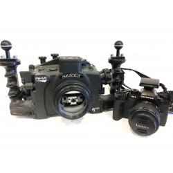 Used Aquatica E-M1 Housing, Camera and Accessories