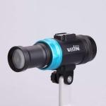 Weefine Smart Focus 6000 Lumens Video Light with Flash Mode (GN16)