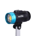 Weefine Smart Focus 6000 Lumens Video Light with Flash Mode (GN16, Ball mount included, Free FO Cable and WFA41 Optical Collector)