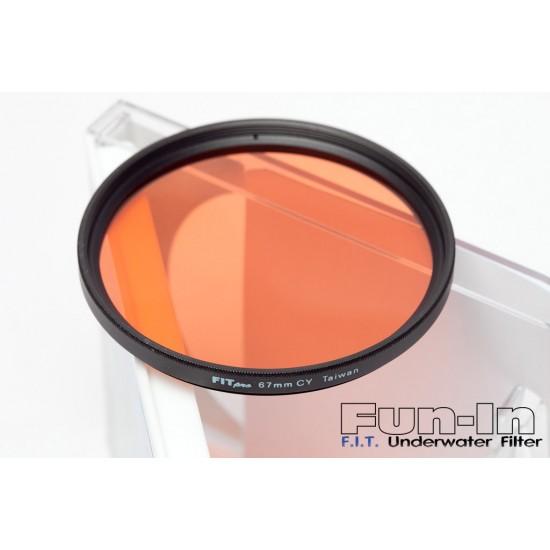 F.I.T. 67mm 水中專用玻璃光學濾鏡