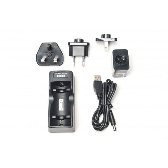 F.I.T. 18650 電池充電器 Pro 加強版 (for Bunny LED/LED650)