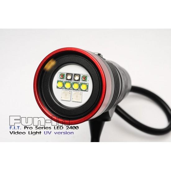 F.I.T. LED 2400UV 攝影燈 (10W UV版)