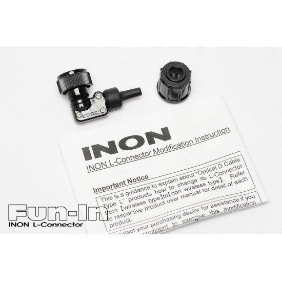 INON L型閃燈連接頭