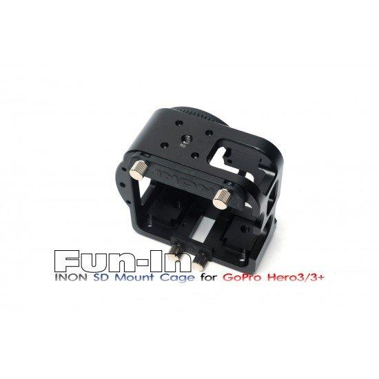 INON SD 轉接座盒子 for for Gopro 3/3+/4 (60m)