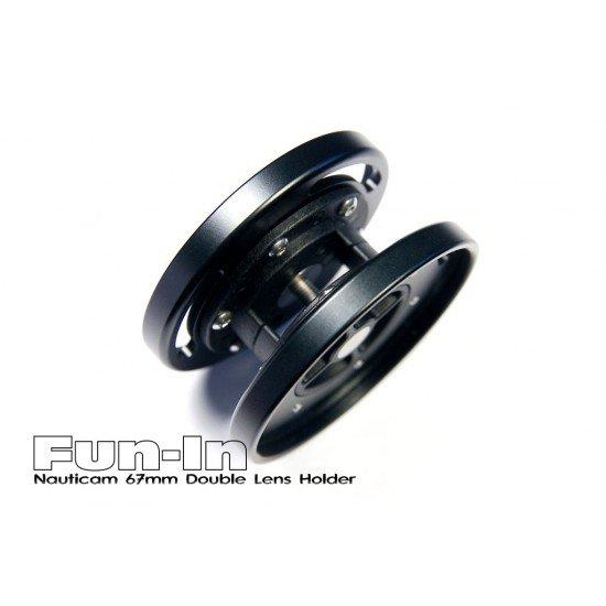 Nauticam 67mm 可固定於燈臂上之雙鏡頭座
