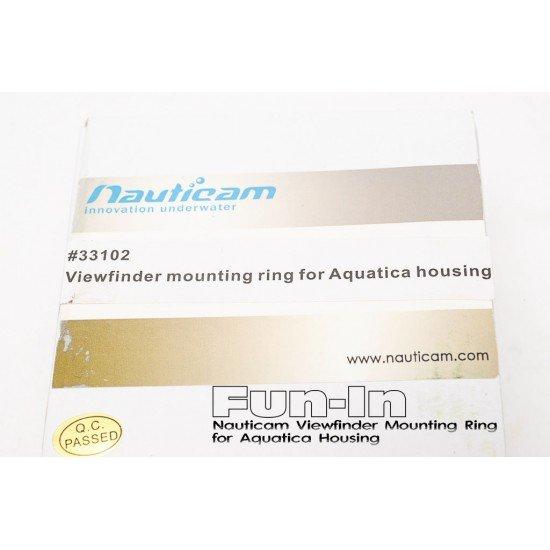 Nauticam 觀景窗轉接環 for Aquatica 防水盒