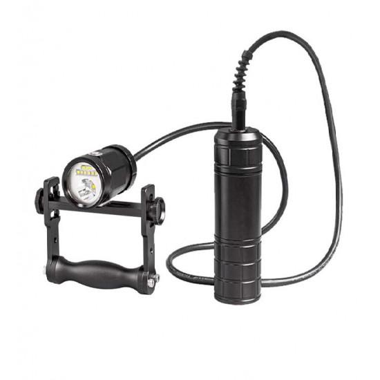Scubalamp CF21-BP66 技術潛水燈 (手把支架, 恆流驅動, 2100 流明)