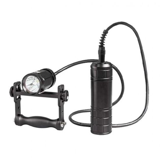 Scubalamp CT18-BP66 技術潛水燈 (手把支架, 聚光, 1800 流明)