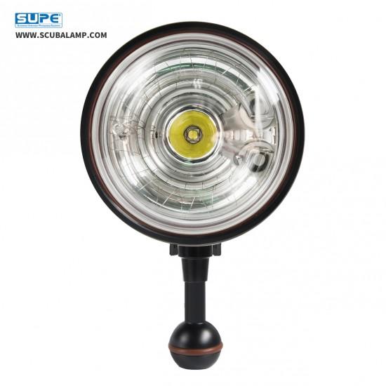Scubalamp D-Max 閃光燈 (黑色, 環形燈管, GN32, 250W)